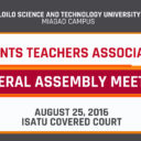 PTA General Assembly Meeting 2016